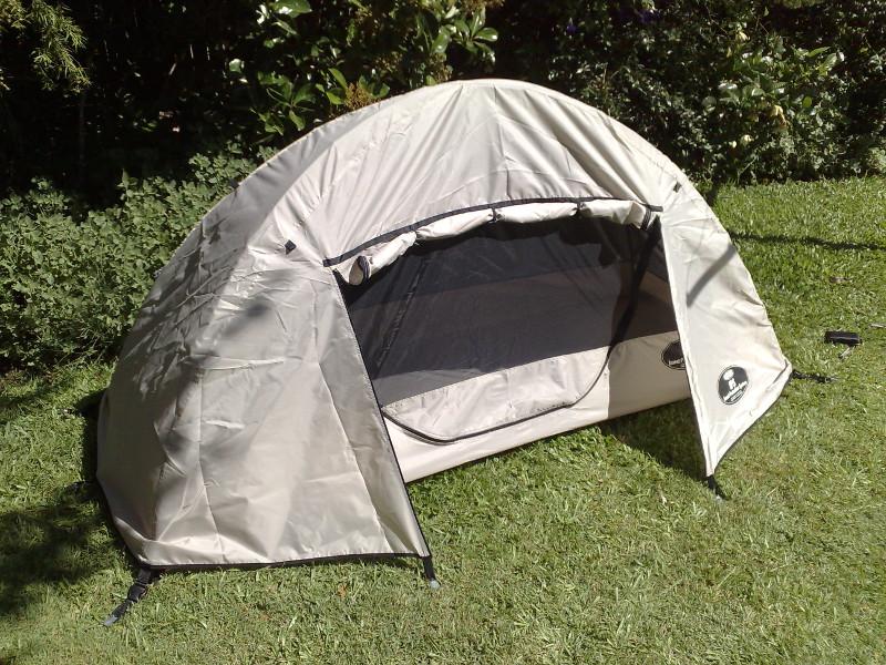 Tente plume légère avec double toit