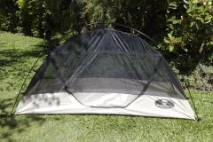 Tente plume avec moustiquaire intégrale ultra légère