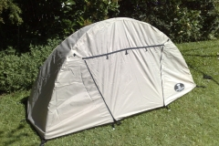 Tente plume avec double toit ultra légère
