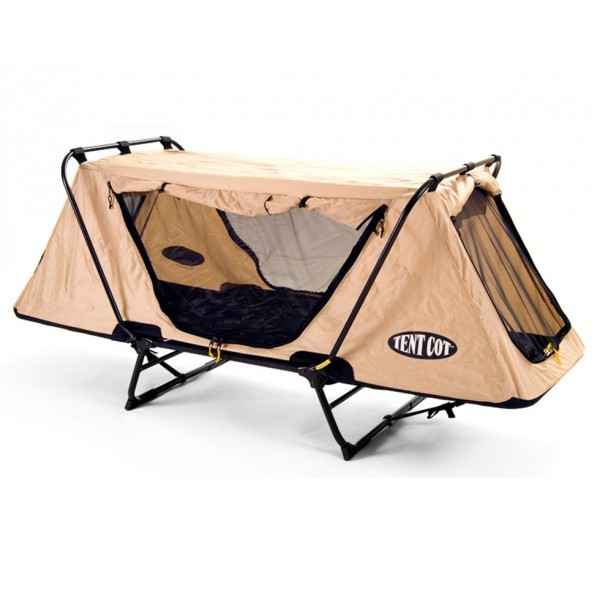 Off-the-ground original tent cot, with mosquito nets