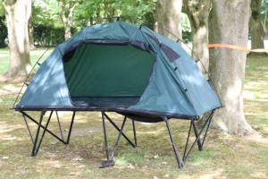 Off-the-ground combo tent